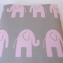 Pink elephant padded laptop bag, Macbook Pro 13 Case, macbook Bag, MacBook Pro Sleeve