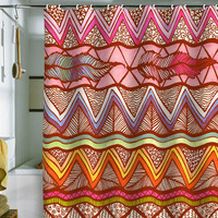 DENY Designs Home Accessories | Lisa Argyropoulos Two Feathers Shower Curtain