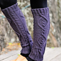Nice And Cozy Leg Warmers: Charcoal | Hope's
