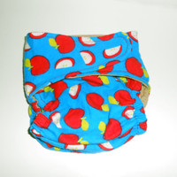OS Pocket Diaper - Apples