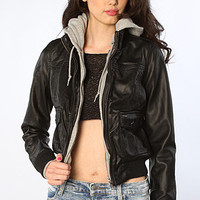 The Jealous Lover Jacket in Black and Heather