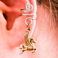 Pegasus Ear Cuff