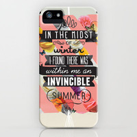 The Invincible Summer iPhone Case by Kavan & Co | Society6
