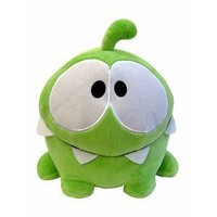 "Amazon.com: Cut The Rope 5"" Happy Om Nom Plush: Toys & Games"