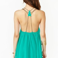 Chained Triangle Dress