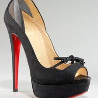 Christian Louboutin Maleva peep toe mary jane pump -