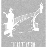 The Great Gatsby Litograph - Books on Posters