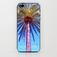 Live In Color iPhone & iPod Skin by Josrick | Society6