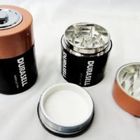 3 Parts, Battery herb tobacco herb grinder,