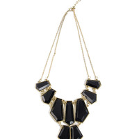 Tiered Rectangle Necklace - 2020AVE