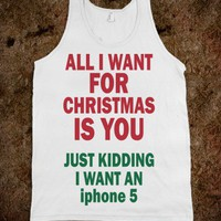 All I Want For Christmas (iphone5) - Christmas Time