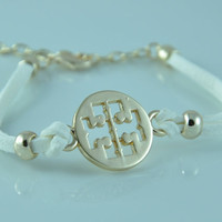 Tory Burch inspired double T bracelet