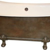 One Kings Lane - Tobi Tobin - Empire Iron Claw-Foot Tub