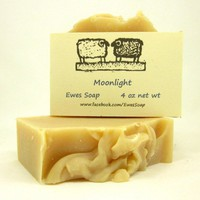 Cold Process Soap Artisan Cocoa Butter Soap Moonlight Natural Soap