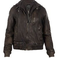 Clyde Leather Jacket