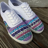 Tribal Pattern Vans