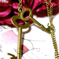 Key Duo Sweater Chain | Trinkettes