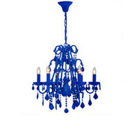Heal's | Johnny Egg Flocked Chandelier > Chandeliers