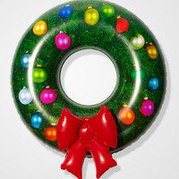 Inflatable Wreath | DCI Novelty Christmas Decoration | fredflare.com