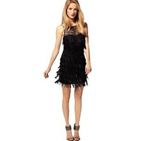 Fringed Short Dress