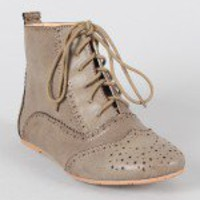 Cambridge-14H Oxford Ankle Bootie