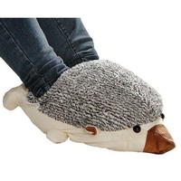 Hedgehog Baby USB Heating Shoes Warmer -- Beidge