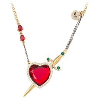 Disney Villains Crystal Evil Queen's Heart Box Snow White Necklace by Disney Couture | Jewelry | Disney Store