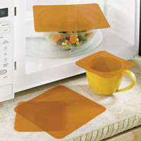 Microwave Splatter Covers, Reusable Cooking Covers | Solutions