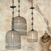 Reproduction Birdcage Chandelier
