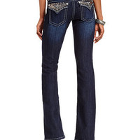 Miss Me Jeans, Bootcut Dark Wash Sequins Hardware - Womens Jeans - Macy's