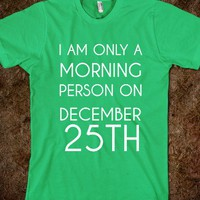 IAM ONLY A MORNING PERSON - glamfoxx.com