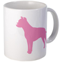 Just Pit Bull (Pink) Mug on CafePress.com