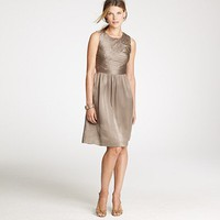 Women&#x27;s dresses - wear to work - Marguerite dress in silk charmeuse - J.Crew