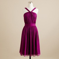 Women's weddings & parties - bridesmaid & party dresses - Sinclair dress in silk chiffon - J.Crew