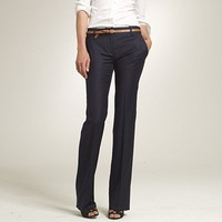 Women&#x27;s pants - 1035 Trouser - 1035 trouser in pinstripe Super 120s - J.Crew