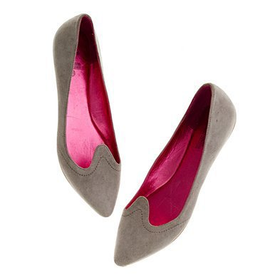 Women&#x27;s SHOES &amp; BOOTS - flats - Belle by Sigerson Morrison?- Suede Flats - Madewell