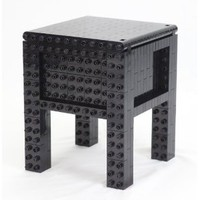 Amazon.com: Do-It-Yourself DIY Building Block Furniture - Homebuilder Lite (Black): Toys & Games