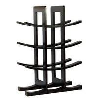 Amazon.com: Oceanstar WR1132 12-Bottle Dark Espresso Bamboo Wine Rack: Home &amp; Kitchen