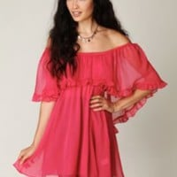 Free People Solid Babydoll Ruffle Woven Dress at Free People Clothing Boutique
