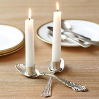 Spoons Candle Holder | Decorative Accessories | Stonewall Kitchen - Specialty Foods, Gifts, Gift Baskets, Kitchenware and Kitchen Accessories, Tableware, Home and Garden D&amp;eacute;cor and Accessories