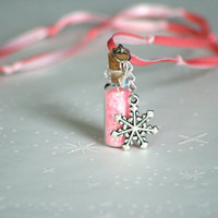 Snowflake Princess Mini Pixie Dust Necklace Fairy Dust by Market1