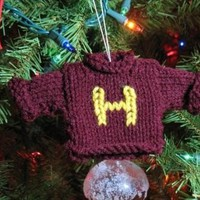 Harry Potter Weasley Sweater Christmas by spunwovendesigns on Etsy