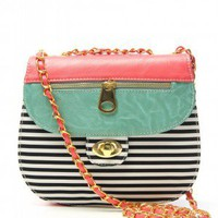 Color Me Happy Purse in Turquoise
