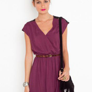 Dreamweaver Wrap Dress - NASTY GAL
