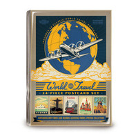 Joel Anderson: World Travel Postcards Set Of 24, at 50% off!