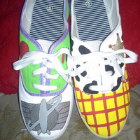 Buzz and Woody Shoes