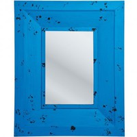 NEW! Azure Blue Wall Mirror