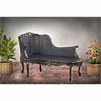 Alexandria Chaise Black - Furniture - Living Room Furniture - Chaises - Home Decor