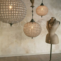 Reproduction Large Globe Chandelier