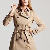 Burberry London Buckingham Trench Coat | Bloomingdale&#x27;s